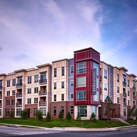 Evolution at Towne Centre Maryland Apartments | Building view